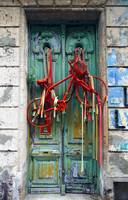 Bicycle Door, Montevideo, Uruguay