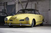 Yellow Karmann Ghia