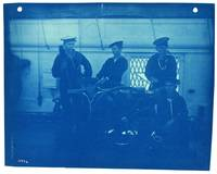 Sailors, Cyanotype Photograph by Thomas Smillie
