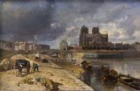 Paris, Notre Dame by Albert Labourg