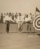 Late 1920's Lou Gehrig on the Golf Course