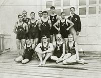 Chicago Athletic Club swimming team at the 1904 Ol