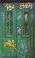 The Green Graffiti Door, Buenos Aires