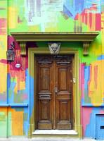 The Painted Doorway, Buenos Aires
