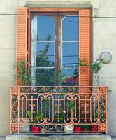 The Orange Balcony Window, Buenos Aires