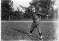 Bill Davis with football 1921