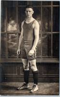 BASKETBALL PLAYER Athlete Uniform c1920s