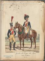 French Soldier in Uniform, France, 1800s - 18