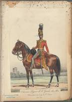 French Soldier in Uniform, France, 1800s - 24