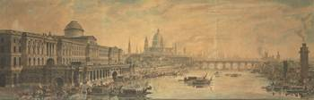 Jean Louis Desprez - Somerset House, Saint Paul's