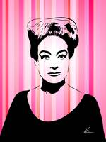 Joan Crawford | Hollywood Royalty | Pop Art
