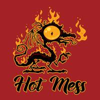 Hot Mess Crispy Dragon