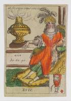 Asie from Playing Cards (for Quartets) 'Costumes d