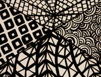 Abstract Digital Zentangle Artwork