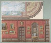 Design for Gallery Elevation and Ceiling, Hôtel Co