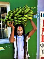 Sadhu Boy with Green Bananas
