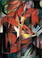 The Foxes by Franz Marc (1913)