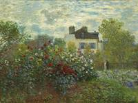 The Artist's Garden in Argenteuil (A Corner of the