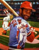 Ozzie Smith St Louis Cardinals MLB Baseball Busch