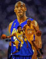 Basketball LA Lakers Kobe 2510B ART AIP AM3 18x24x