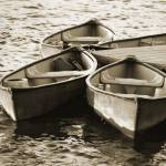 """boats_sepia_8x10"" by mayoplex"