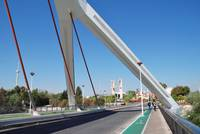 Barqueta bridge in Seville