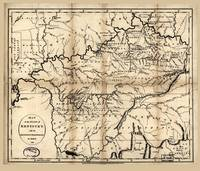 Map of Kentucky by Russell & Symonds (1794)