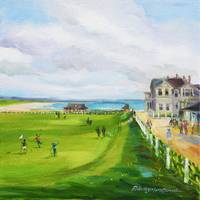 Hole 18 St. Andrews Links_10x10