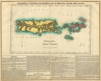 1822 Puerto Rico and the Virgin Islands map