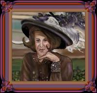 Ruth Buzzi  2nd Portrait Painting