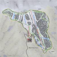 Bald Mountain Resort Trail Map