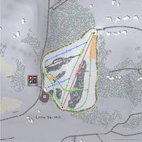 Little Ski Hill Resort Trail Map