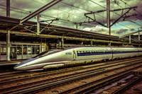 Fast Speed Train, Osaka, Japan