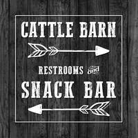 CATTLE BARN SIGN