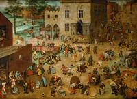 Children's Games by Pieter Bruegel the Elder