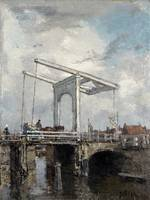 MARIS, Jacob - A Drawbridge in a Dutch Town