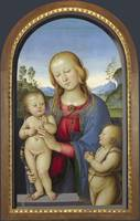 Associate of Pietro Perugino - The Virgin and Chil