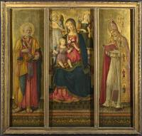 Benvenuto di Giovanni - Altarpiece - The Virgin an