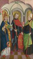 Circle of Master of Liesborn - Saints Gregory, Mau