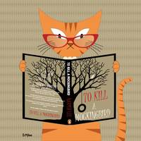 Cat Reading Book 2