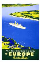Europe Canadian Pacific Travel Poster