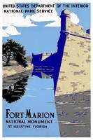 Ft Marion St Augustine Florida  Travel Poster
