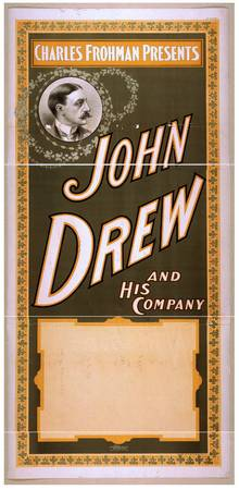 Charles Frohman presents John Drew and his company
