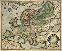 1595 Europe map by Mercator