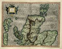 1595 Scotland map 2 by Mercator