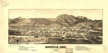 United States--Colorado--Maysville. c1882