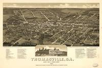 Map--Georgia--Thomasville. 1885