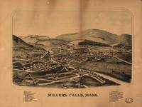 Map--Massachusetts--Millers Falls