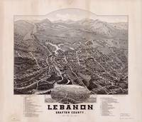 Map--New Hampshire--Lebanon.1884