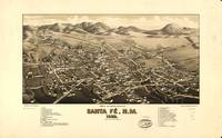 Map--New Mexico--Santa Fe. c1882